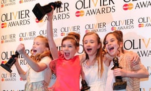 Olivier award for best actress in a musical: Matilda