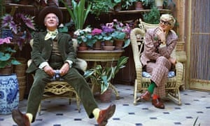 Peter Schlesinger's photograph of David Hockney and Cecil Beaton