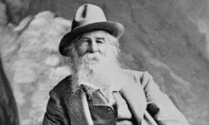 Portrait of Author Walt Whitman