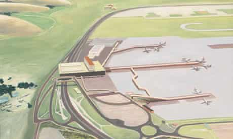 Carol Rhodes's Airport