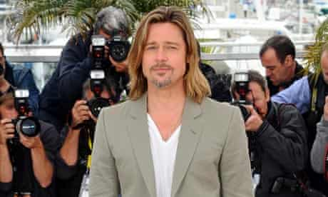 Brad Pitt at the 65th Annual Cannes film festival