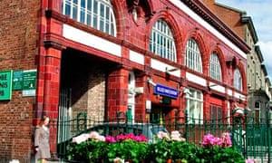Belsize Park tube station