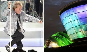 Rod Stewart takes Glasgow's SSE Hydro for a test drive