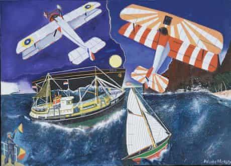 Malcolm Morley's Man Overboard (1994)