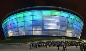 Rod Stewart performs at SSE Hydro, Scotland's newest arena
