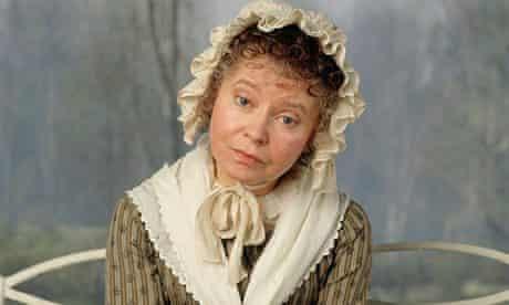 Prunella Scales as Jane Austen's Miss Bates