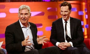 Harrison Ford and Benedict Cumberbatch on Graham Norton Show