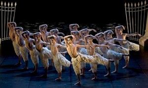 Matthew Bourne's Swan Lake.