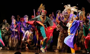 The Lion King Sets Historic 1bn Record For Broadway Musical Musicals The Guardian