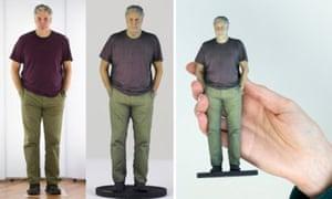 3D model of Stephen Moss