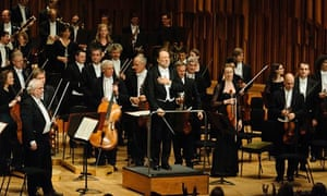 Riccardo Chailly with the Leipzig Gewandhaus Orchestra at the Barbican, London
