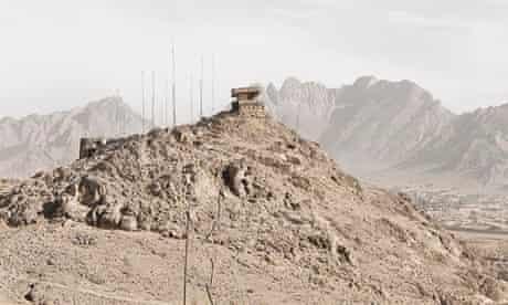 Afghanistan, 2010. Canadian army observation post 2, Ma'sum Ghar Forward operating base, Kandahar