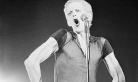 Lou Reed Performing In Brussels