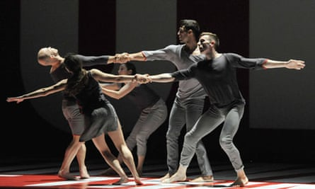 Reflections by Benjamin Millepied performed by LA Dance Project at Sadler's Wells Theatre