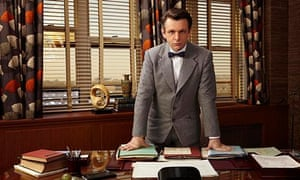 Michael Sheen as Dr William Masters in Masters of Sex