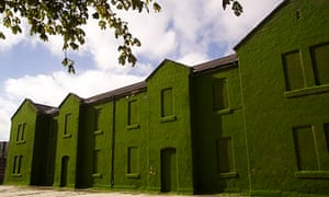 Heather Ackroyd and Dan Harvey's grass-covered Cunningham building in Derry