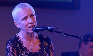 Annie Lennox performs at the mothers2mothers cocktail party in London, England