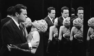 The Lady from Shanghai: an Orson Welles film with a backstory as bizarre as its promotional picture.
