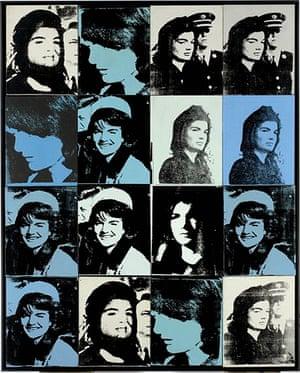 JFK – Sixteen Jackies (1964), Andy Warhol