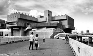 The Hayward Gallery in the early 1970s