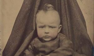 A 19th-century 'hidden-mother' portrait