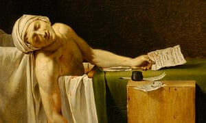 The Death of Marat, 1793, by Jacques-Louis David