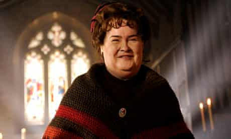 Susan Boyle in The Christmas Candle