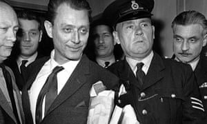 Stephen Ward leaves London's Marylebone Magistrates Court in police custody