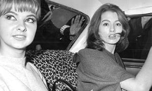 Stephen Ward - Christine Keeler (right) and Mandy Rice-Davies