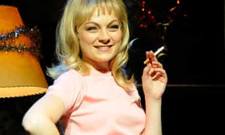 Stephen Ward - Charlotte Blackledge as Mandy Rice-Davies in the Andrew Lloyd Webber stage production