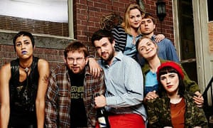 The cast of Fresh Meat