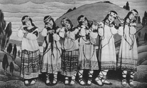 The 'knock-kneed' Lolitas of the original Rite of Spring
