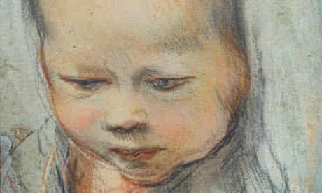 Barocci's The Head of the Christ Child, c1595-97