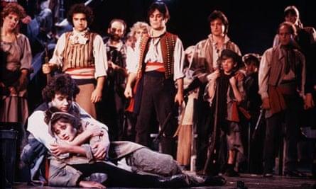 The 1985 production of Les Misérables