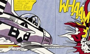 A detail from Whaam!, 1963.