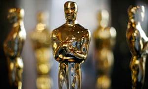 Oscar statuettes for the annual Academy Awards