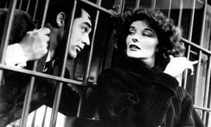 Cary Grant and Katharine Hepburn in Bringing Up Baby
