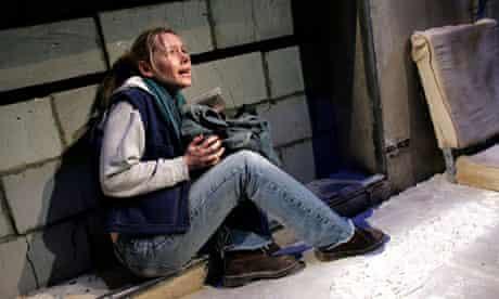 Peace offering … Megan Dodds in My Name Is Rachel Corrie.