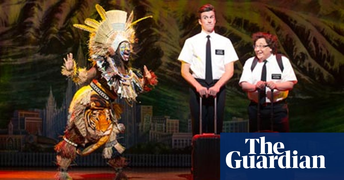 60fb3f41f8c Charm offensive: The Book of Mormon comes to London | Stage | The ...