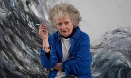Maggie Hambling Portrait