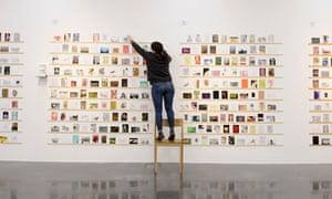 Royal College of Art, 'Secret Postcard' sale, London, Britain - 13 Mar 2013