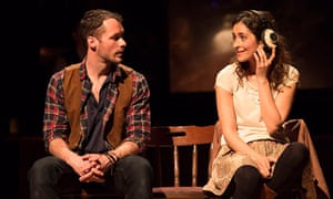 Declan Bennett and Zrinka Cvitesic in Once the Musical