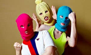 Punk band Pussy Riot