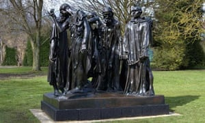 Rodin's The Burghers Of Calais