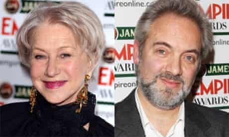 Helen Mirren accuses Sam Mendes of sexism at 2013 Empire awards