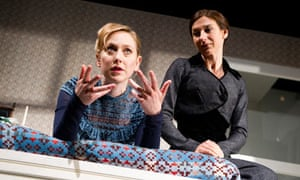 Hattie Morahan and Susannah Wise in A Doll's House