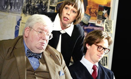 Richard Griffiths, Frances de la Tour and Stephen Campbell Moore in The History Boys