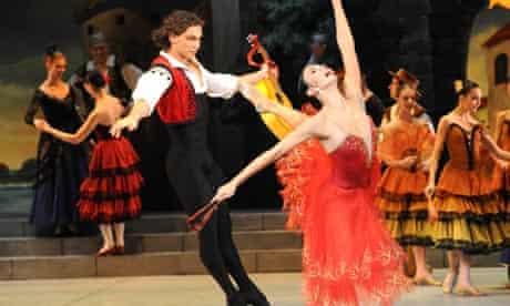 Don Quixote performed by the Mikhailovsky Ballet at the London Coliseum