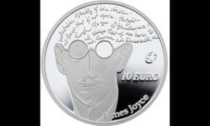 james joyce coin