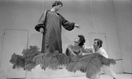Peter Brook's acrobatic 1970 production of A Midsummer Night's Dream.